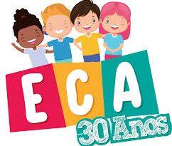 O Conselho Tutelar de Santa Rita do Passa Quatro, comemorando os 30 anos do ECA